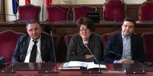 Cordiale incontro in Municipio tra il vicesindaco Elena Baio e una delegazione di residenti a Londra, originari di Morfasso